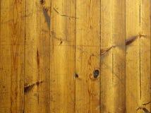 Vecchio pavimento della plancia Fotografie Stock
