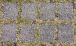 Vecchio pavimento delle pietre per lastricati immagini stock libere da diritti