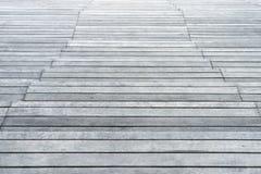 Vecchio pavimento di legno Fotografie Stock