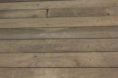 Vecchio pavimento di legno Immagine Stock