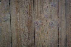 Vecchio pavimento di legno di Brown, fondo immagini stock