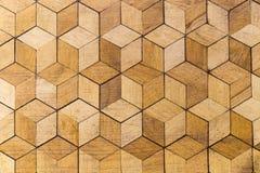 Vecchio pavimento di legno duro russo nella casa fotografia stock