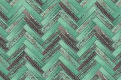 Vecchio pavimento di parchè di legno di Grunge Fotografie Stock
