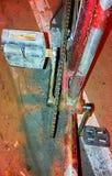 Vecchio pedale della bicicletta immagine stock libera da diritti