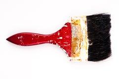 Vecchio pennello Fotografie Stock Libere da Diritti