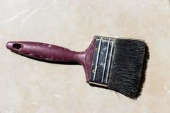 Vecchio pennello Fotografia Stock Libera da Diritti