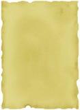 Vecchio pezzo di carta Immagine Stock