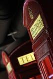 Vecchio phonebox Fotografia Stock