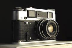 Vecchio photocamera Fotografia Stock Libera da Diritti
