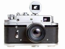 Vecchio photocamera della pellicola Fotografia Stock Libera da Diritti