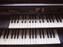 Vecchio piano Fotografie Stock