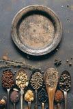 Vecchio piatto del ferro Fotografia Stock