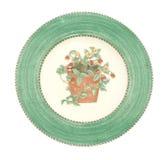 Vecchio piatto di pranzo antico Fotografia Stock Libera da Diritti