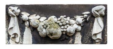 Vecchio piatto storico della decorazione della parete in signore, Fiandre, Belgio Fotografia Stock Libera da Diritti