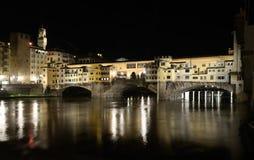 Vecchio Ponte (παλαιά γέφυρα), Φλωρεντία Στοκ φωτογραφία με δικαίωμα ελεύθερης χρήσης