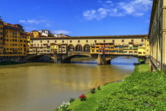 Vecchio Ponte, Φλωρεντία, Φλωρεντία, Ιταλία Στοκ φωτογραφίες με δικαίωμα ελεύθερης χρήσης