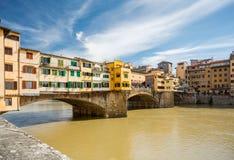 vecchio ponte Италии Стоковые Фотографии RF