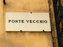 Vecchio Ponte Στοκ εικόνα με δικαίωμα ελεύθερης χρήσης