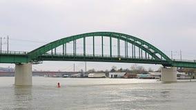 Vecchio ponte Belgrado immagine stock libera da diritti