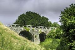 Vecchio ponte in Corfe Fotografia Stock