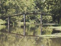 Vecchio ponte del ferro Immagine Stock Libera da Diritti