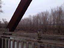 Vecchio ponte del Missouri Fotografie Stock Libere da Diritti