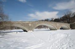 Vecchio ponte del mulino a Toronto Fotografia Stock