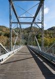 Vecchio ponte della stazione di Fayette in Virginia Occidentale fotografia stock libera da diritti