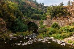 Vecchio ponte di Cabreira fotografie stock