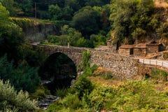 Vecchio ponte di Cabreira Fotografia Stock Libera da Diritti