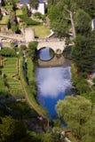 Vecchio ponte di pietra Fotografia Stock Libera da Diritti