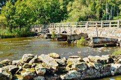 Vecchio ponte di pietra immagine stock libera da diritti