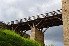 Vecchio ponte di terra Fotografia Stock Libera da Diritti