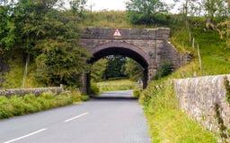Vecchio ponte ferroviario Immagini Stock