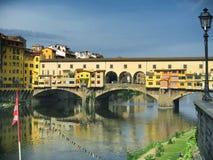 Vecchio ponte a Firenze fotografia stock libera da diritti