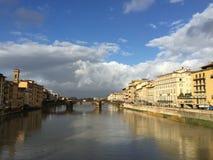 Vecchio ponte Firenze Fotografia Stock