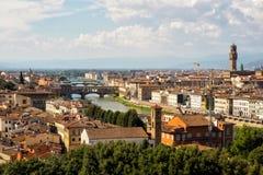 vecchio ponte florence Италии моста Стоковые Фотографии RF