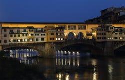 vecchio ponte florence Италии моста Стоковые Изображения