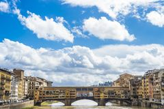 vecchio ponte florence Италии стоковые изображения