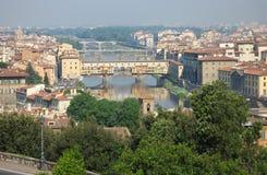 vecchio ponte florence Италии Стоковое Изображение RF