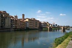 vecchio ponte florence Италии моста Стоковая Фотография RF