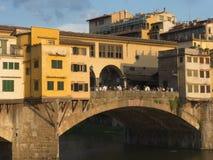 vecchio ponte florence Италии Стоковые Изображения RF