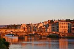 vecchio ponte florence стоковая фотография rf