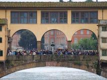 vecchio ponte florence стоковые фотографии rf