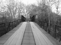 Vecchio ponte posteriore della strada Fotografia Stock