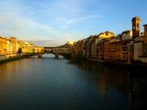 Vecchio ponticello a Firenze fotografia stock libera da diritti