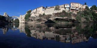 Vecchio ponticello, Mostar Fotografia Stock