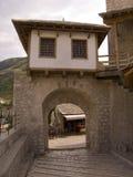 Vecchio ponticello a Mostar Fotografia Stock Libera da Diritti
