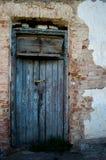 Vecchio a porta chiusa Fotografia Stock Libera da Diritti