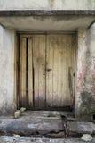 Vecchio portello arrugginito Fotografie Stock